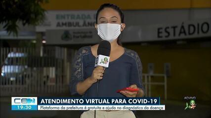 O atendimento virtual da prefeitura a pacientes com covid-19