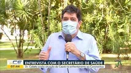 Veja entrevista com Secretário da Saúde do Ceará