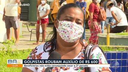 Bandidos aplicam golpe aos beneficiários do auxílio emergencial, da Caixa Econômica