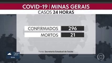 Minas Gerais tem mais de 500 mortes por coronvaírus