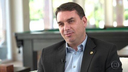 MPF diz que há fortes indícios de crime de lavagem de dinheiro envolvendo Flávio Bolsonaro