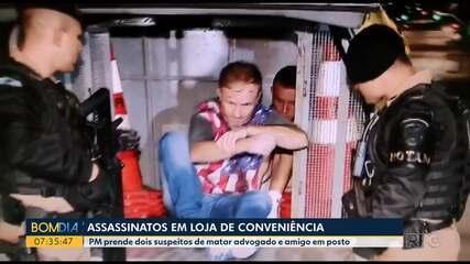 Preso suspeitos de matar dois homens em posto de gasolina em Curitiba