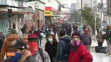 Governo do Chile endurece medidas de restrição em Santiago para conter a Covid-19