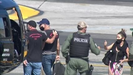 De São Paulo, Fabrício Queiroz foi levado para o Rio de Janeiro, onde está preso
