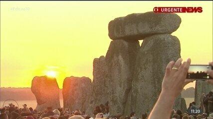 Solstício de verão de Stonehenge será transmitido online pela 1ª vez