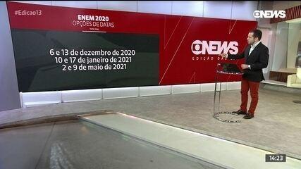 MEC abre enquete para escolha de datas do Enem