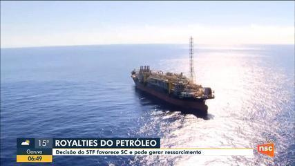 SC tem decisão favorável do STF no julgamento dos royalties do petróleo