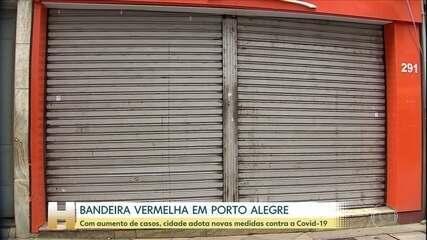 Porto Alegre sob bandeira vermelha