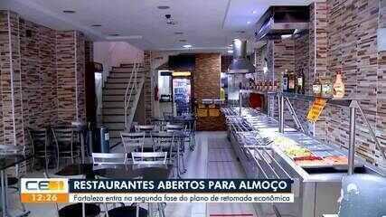 Restaurantes retomam atividades de atendimento ao público