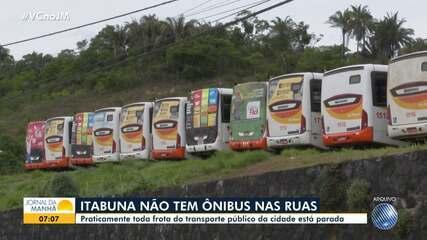 Moradores de Itabuna completam três meses sem transporte coletivo