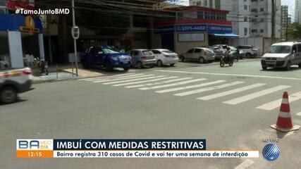 Veja o movimento no bairro do Imbuí, que junto com São Marcos, terá medidas restritivas