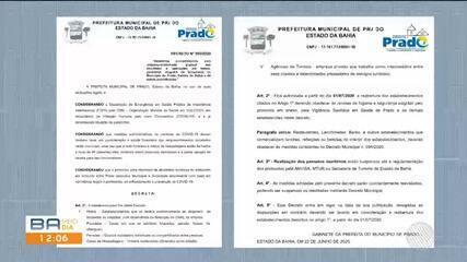 Prefeitura de Prado, sul da BA, autoriza reabertura de serviços relacionados ao turismo