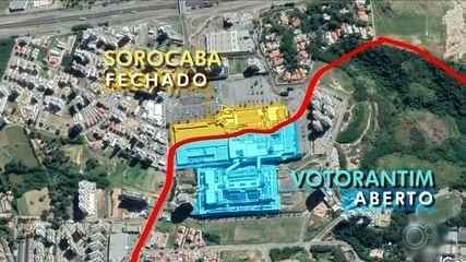 Ministério Público recomenda fechamento de shopping no limite entre Sorocaba e Votorantim