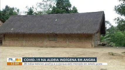 Aldeia indígena em Angra dos Reis tem 30 casos confirmados de Covid-19