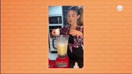 Carol Miarelli ensina a fazer Bolo de Pamonha