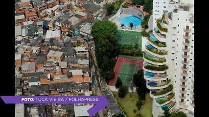 Foto de prédio de luxo ao lado de comunidade em São Paulo escancara a desigualdade brasileira