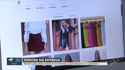 Reclamações de demora na entrega de compras online aumenta em 90% em Campinas