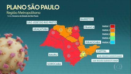 Governo de SP prorroga quarentena até 14 de julho; SP e ABC avançam para fase amarela