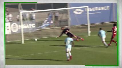 Felipe Brisola marca gol em vitória do Riga FC no Campeonato da Letônia