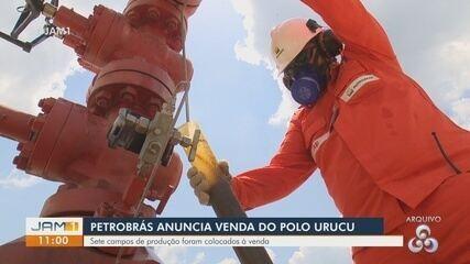 Petrobras anuncia venda polo Urucu