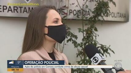 Terapeuta é preso por crimes de abuso sexual em Canoas, diz polícia
