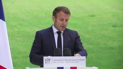 Macron diz que vai se opor a acordo de livre comércio entre União Europeia e Mercosul