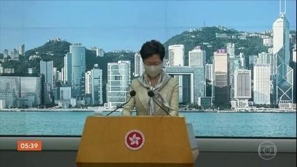 Parlamento da China aprova a controversa lei de segurança nacional para Hong Kong