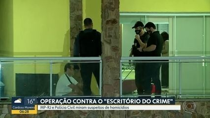 Operação do Ministério Público e da Polícia Civíl contra o escritório do crime