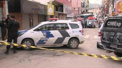 Dois homens foram mortos durante assalto em casa lotérica