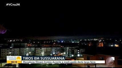Tiroteio entre policiais e traficantes assusta moradores do bairro de Sussuarana