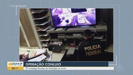 Polícia Federal deflagra Operação Conluio para combater fraudes em licitações no Incra