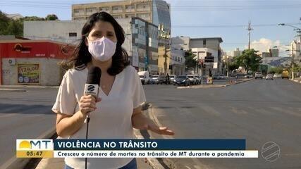 Mortes no trânsito aumentam na pandemia