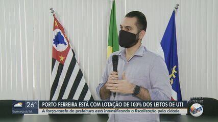 Porto Ferreira atinge 100% da taxa de ocupação de UTI