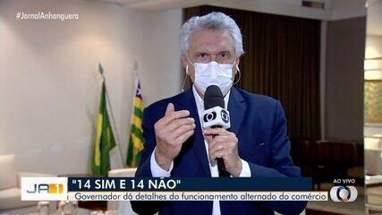 Caiado afirma que espera adesão de todos os municípios do estado ao novo decreto