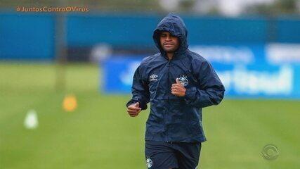 Grêmio planeja ida a Santa Catarina para retomar treinos físicas