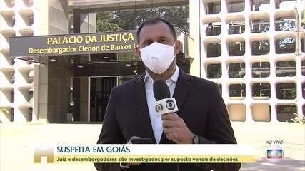 Juiz e dois desembargadores são investigados em Goiás
