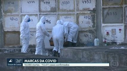 RJ ultrapassa 10 mil mortes confirmadas por Covid-19