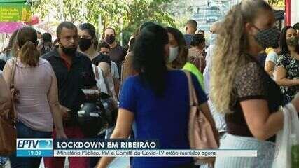 Comitês contra a Covid-19 discutem possibilidade de 'lockdown' em Ribeirão Preto, SP