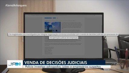 STJ investiga suspeita de venda de decisões judiciais