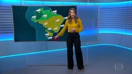 Veja a previsão do tempo para quarta-feira (1º) no Brasil