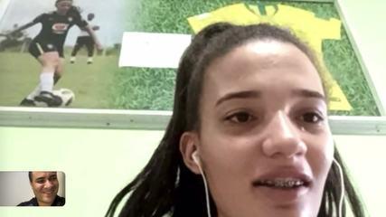 Em isolamento no Piauí, Júlia Beatriz comenta saída do Iranduba e futuro após a pandemia