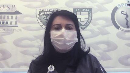 Dentista fala como é ser 1ª brasileira a participar de testes de vacina contra Covid-19