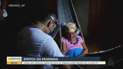 Unifap realiza pesquisa com indígenas para saber os efeitos da pandemia nas aldeias