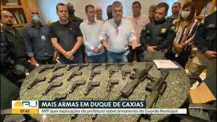 MPF pede explicações à Prefeitura de Duque de Caxias sobre armamento da Guarda Municipal