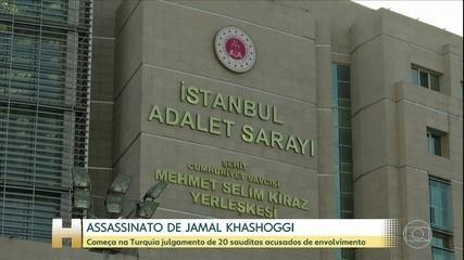 Começa na Turquia julgamento de acusados de assassinar o jornalista Jamal Khashoggi