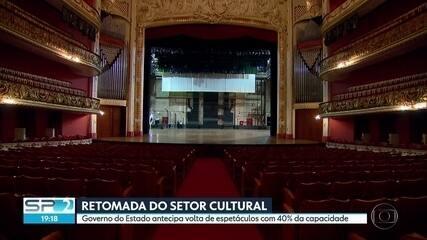 Governo antecipa a retomada do setor cultural em São Paulo