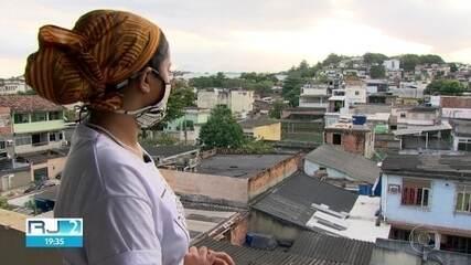 Moradores da periferia perderam quase toda a renda por causa do pandemia.