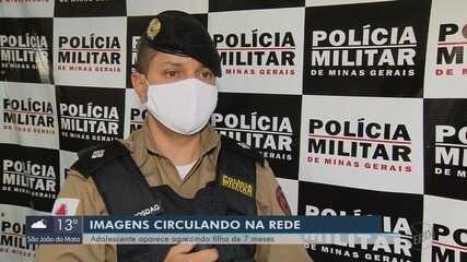 Mãe é acusada de agredir bebê de sete meses em Paraguaçu (MG)
