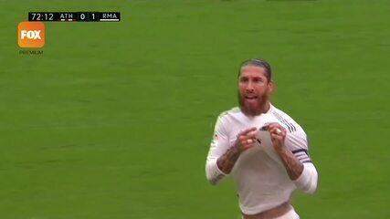 O gol de Athletic Bilbao 0 x 1 Real Madrid pelo Campeonato Espanhol