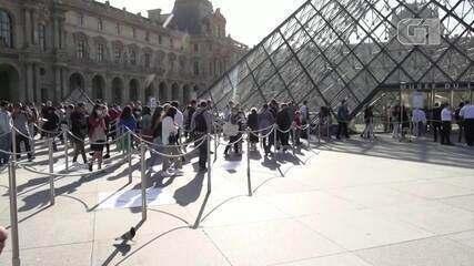 Museu do Louvre, em Paris, reabre com precauções para prevenir contágios da Covid-19